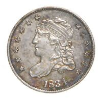 1834 CAPPED BUST HALF DIME 4577
