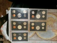 US COINS PROOF SETS LOT 1968   2019 50 TOTAL YEAR PROOF SETS