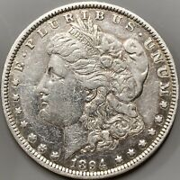 1894 P MORGAN SILVER DOLLAR EXTRA FINE  DETAILS  KEY DATE COIN 110,000 MINTED