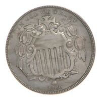 1866 SHIELD NICKEL 4779