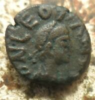 11 MM VF   LEO I  457 474 AD . AE. CONSTANTINOPLE. EX CNG COIN LION  1.39 GRAM