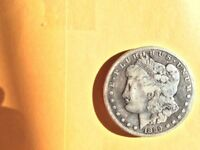1899-S MORGAN SILVER DOLLAR-VG CONDITION- COIN