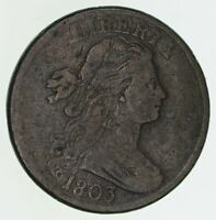 1803 DRAPED BUST LARGE CENT - CIRCULATED 4659