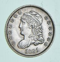 1831 CAPPED BUST HALF DIME 4939