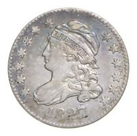 1827 CAPPED BUST DIME 4609