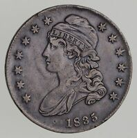 1835 CAPPED BUST HALF DOLLAR - CIRCULATED 7132