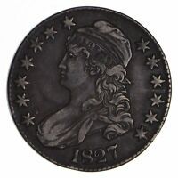 1827 CAPPED BUST HALF DOLLAR - CIRCULATED 9053
