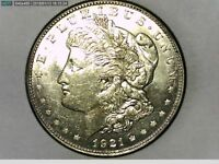 1921-D VAM 1AT EARLY DIE STATE MS MORGAN SILVER DOLLAR