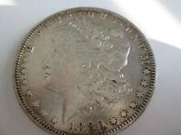 1880-O VAM 6C 2ND 8/7 TOP 100 AU MORGAN SILVER DOLLAR