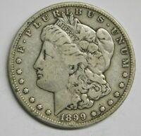 1899 S SAN FRANCISCO MINT SILVER MORGAN DOLLAR F CHECK PICS