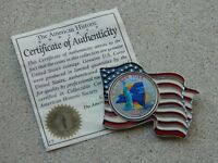 2001 NEW YORK COLORIZED STATE QUARTER ENCASED IN A BEAUTIFUL