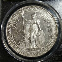 GREAT BRITAIN: 1903/2 B SILVER TRADE DOLLAR KM T5 PCGS MS 62.
