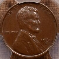 1931 S SEMI KEY LINCOLN CENT PCGS AU55 LOVELY EXAMPLE     DA