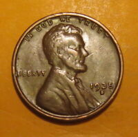 1935 S  COPPER PENNY--PRIZED