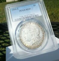 1888 S $1 MORGAN DOLLAR PCGS EXTRA FINE 45 , - ORIGINAL COIN  PRICED TO SELL