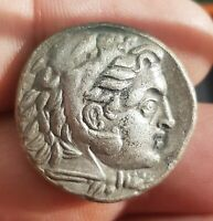 VERY  GREECE SILVER COIN  TETRADRACHM  16.93 G. ALEXANDER TH