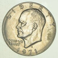 SPECIALLY MINTED   S MINT MARK   1971 S 40  EISENHOWER SILVE