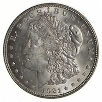 1921 MORGAN SILVER DOLLAR - ERROR LAMINATION 4317