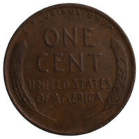 USA, 1 CENT, 1952, D, F, LINCOLN,