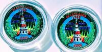 SET OF P AND D COLORIZED STATE QUARTERS MARYLAND 2000