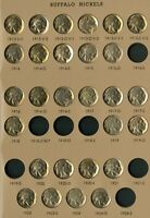 US COINS BUFFALO NICKEL ALMOST COMPLETE BU SET 1913 38