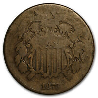 1872 TWO CENT PIECE GOOD - SKU16275