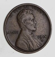 1914-D LINCOLN WHEAT CENT - CIRCULATED 7471