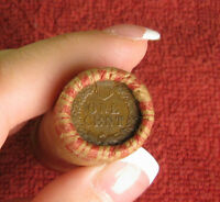 ONE UNOPENED INDIAN HEAD CENT WHEAT PENNY SHOTGUN ROLL FROM