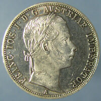 PROOF LIKE BU1860 A AUSTRIAN FLORIN
