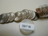 1 ROLL OF  UNCIRCULATED 2002 P MISSISSIPPI QUARTERS. COMBINE