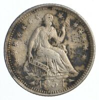1854 SEATED LIBERTY HALF DIME   DIRK COIN COLLECTION  389