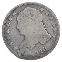 EARLY   1829   CAPPED BUST DIME   EAGLE REVERSE   TOUGH   US