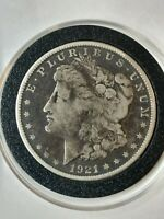 1921-S MORGAN SILVER US ONE DOLLAR AMERICAN COIN