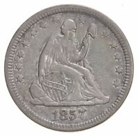 1857 SEATED LIBERTY QUARTER   LEGACY COIN COLLECTION  922