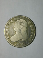 FROM A RECENT ESTATE:1819 CAPPED BUST QUARTER FULL LIBERTY