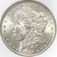 1887 O MORGAN SILVER DOLLAR NGC MINT STATE 63 BETTER DATE NEW ORLEANS MINT COIN