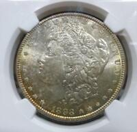 1898 MORGAN DOLLAR NGC GRADED MINT STATE 66