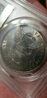 1899 O MORGAN SILVER DOLLAR PCGS MINT STATE 64 LY TONED  COIN