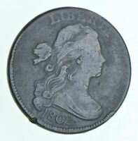 1802 DRAPED BUST LARGE CENT 6095
