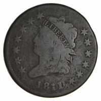 1811 CLASSIC HEAD LARGE CENT - CIRCULATED 2762