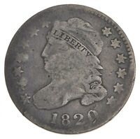 1820 CAPPED BUST DIME 7345