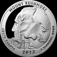 2013 S  SILVER MOUNT RUSHMORE QUARTER IN  PROOF    -   ATB