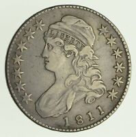 1811 CAPPED BUST HALF DOLLAR - CIRCULATED 4156
