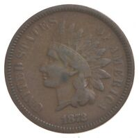 BETTER 1872   US INDIAN HEAD CENT PENNY   COIN COLLECTION LO