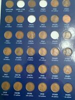 COMPLETE LINCOLN PENNY SET 1909-1958 1909SVDB NOT INCLUDED