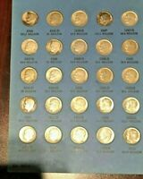 1946 1964 ROOSEVELT DIME COLLECTION A SET COMPLETE WITH 48 S