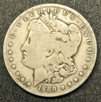 1889-O MORGAN SILVER DOLLAR AN HONEST UNGRADED COIN WITH FAST SHIPS FREE