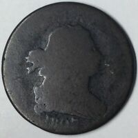 1807 1/2C DRAPED BUST HALF CENT AG UNCERTIFIED