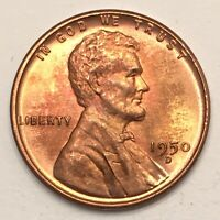 1950-D 1C LINCOLN CENT