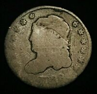 1829 CAPPED BUST SILVER HALF DIME 5C WITH LIBERTY GOOD FILLER US COIN CCC277